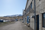 The Old Herring Factory at Hjalteyri