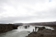 Stig captures the magic of Goðafoss - Waterfall of the gods